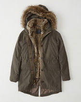 3-In-1 Faux Shearling Lined Parka