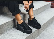Puma Fenty by Rihanna Suede Cleated Creeper Sneakers