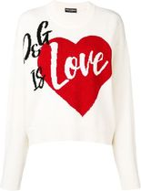 Dolce & Gabbana■カワイイ D&G is Love Pullover