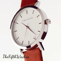 The Fifth Watches(ザ フィフス ウォッチ) アナログ腕時計 The Fifth Watches /  WHITE&TAN