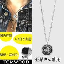 "国内在庫・即納可能TOMWOOD Coin Pendant Short (18"")"
