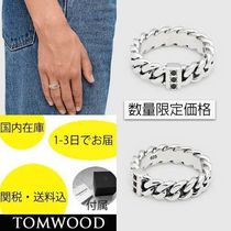 国内在庫・即納可能TOMWOOD Chain Ring Slim Spinel