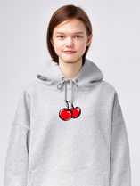 19SSコレクション☆MIDDLE CHERRY HOODIE IS [GRAY]