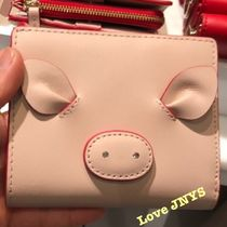 3-5日着可kate spade☆year of the pig small shawn二つ折り財布