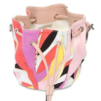Emilio Pucci 子供用ショルダー・ポシェット・ボディバッグ 送料込 Emilio Pucci プリントバケットバッグ 大人もOK!国内発送(5)