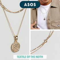 ◆ASOS×Chained & Able限定◆メダルコイン*レイヤーネックレス