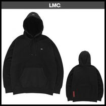 ☆LMC☆ LMC RED LABEL REVERSE MIXED HOODIE black