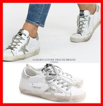 関税負担☆人気☆【GOLDENGOOSE】☆SUPERSTAR SNEAKERS SILVER☆