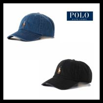 新作★RALPH LAUREN★Denim Baseball Cap 2色
