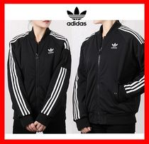 ☆韓国の人気☆【ADIDAS】☆SHORT BOOMER JACKET☆BLACK☆