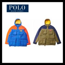 無料EMS配送RALPHLAUREN★Hi Tech Waterproof Anorak 2色