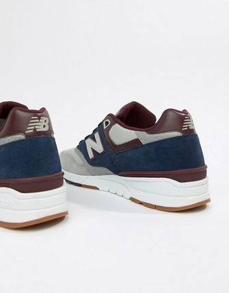 huge discount 0d8d4 587f1 送料・関税込【new balance】597 Trainers In Navy ML597GNB