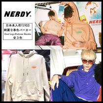 【NERDY】新作!関税込/ロゴパーカー/Oval Logo Pullover Hoodie