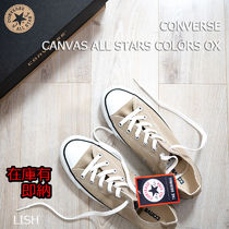 CONVERSE CANVAS ALL STAR COLORS OX コンバース ベージュ