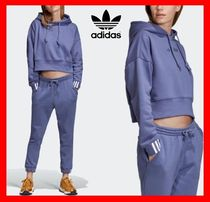 ☆韓国の人気☆【ADIDAS】☆Originals Coeeze Cropped Hoodie☆