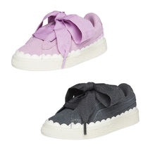 ★PUMA KIDS★SUEDE HEART RUBBERIZED PS★追跡付 36723302