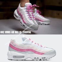 NIKE★WMNS AIR MAX 95 ESSENTIAL★ホワイト×ピンク系
