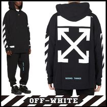 OFF-WHITE_DIAG ARROWS OVER HOODIE☆正規品・安全発送☆