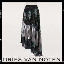 Sale【Dries Van Noten】Pleated skirt