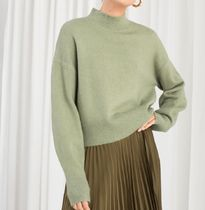 """& Other Stories"" Mock Neck Sweater Pistachio"