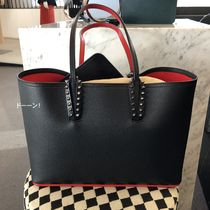 【Christian Louboutin】Cabata Small Tote Bag (Black)