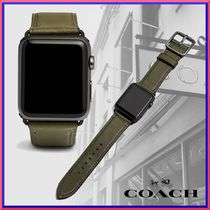 関税込 海外限定★ COACH Apple Watch Strap With 42mm W1600