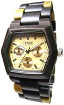 Tense Mens TripleウィンドウHexagon Discovery Marmot Watch g8