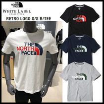 THE NORTH FACE★19SS RETRO LOGO S/S R/TEE_NT7UK22