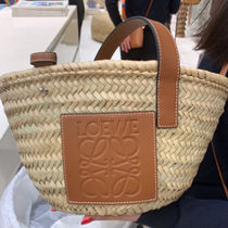 ロエベ  Basket bag S NATURAL/TAN 1100039