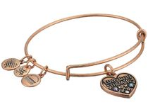 Alex and Ani Love Is in the Air Bangle Bracelet 送料関税込