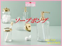最安値保証*関税送料込【Anthro】Golden Glass Bath Collection