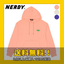 ★NERDY★ Oval Logo Pullover Hoodie
