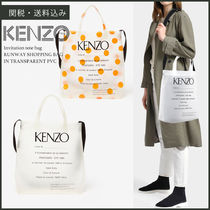 【KENZO】 Invitation tote bag 2019SS トート クリア バッグ