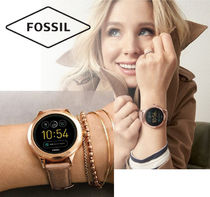Fossil(フォッシル) デジタル時計 Fossil●Gen 3 Smartwatch - Venture Sand Leather