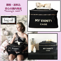 Bag all(バッグオール) メイクポーチ 【Bag-all】NY発〓 BEAUTY BOX LARGE BLACK