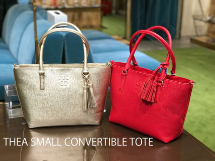 61003f92a5ea Tory Burch トートバッグ 2月新作 TORY BURCH☆THEA SMALL CONVERTIBLE TOTE ...