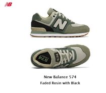 New Balance★574 Faded Rosin with Black (22~25cm)
