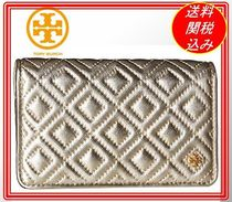 関税.送料込 Tory Burch Fleming Metallic Slim Medium   財布