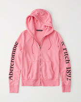 【Abercrombie&Fitch】LOGO  HOODIE☆ロゴフーディ☆パーカー