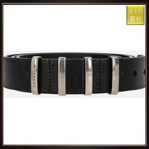 【GIVENCHY】four loops leather belt
