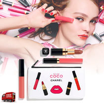 CHANEL☆限定☆ポーチ付☆ROUGE COCO コーラルリップ 3本セット
