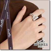 ◆HERMES◆贈り物にも Croisette ring, large model Silver