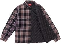 Supreme FW18 Quilted Faded Plaid Shirt チェック シャツ 19週