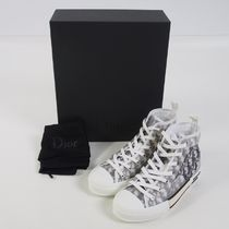 DIOR HOMME(ディオールオム) スニーカー 【DIOR HOMME】 B23 High-Top Sneakers in Dior Oblique[RESALE]