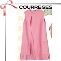 Courreges(クレージュ) ワンピース ★雑誌掲載★COURREGES ピンク ドレス
