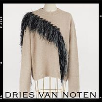 Sale【Dries Van Noten】Mohair and cashmere sweater