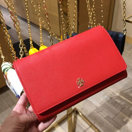 Tory Burch ショルダーバッグ・ポシェット ☆即発送☆TORY BURCH EMERSON CHAIN WALLET(9)