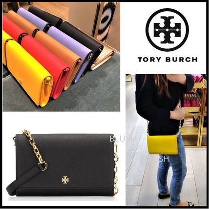 Tory Burch ショルダーバッグ・ポシェット ☆即発送☆TORY BURCH EMERSON CHAIN WALLET