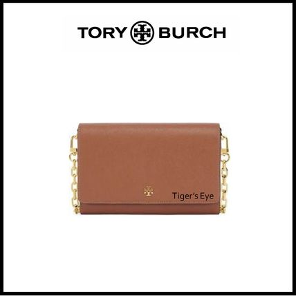 Tory Burch ショルダーバッグ・ポシェット ☆即発送☆TORY BURCH EMERSON CHAIN WALLET(3)