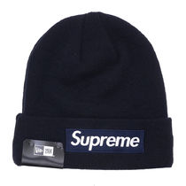 Supreme FW16 New Era Box Logo Beanie (ステッカー付き)